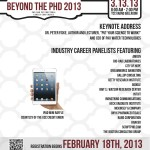 BPhD2013 Industry Career Panel Flyer