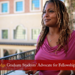Leah Aldridge, Graduate Student Advocate for Fellowships